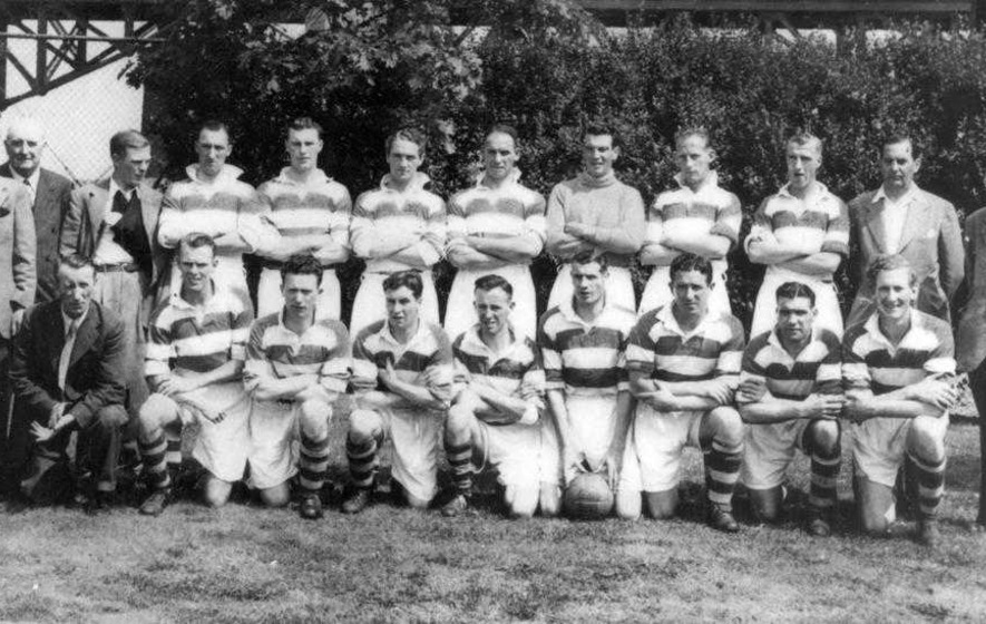 Belfast Celtic player also made history with Ireland
