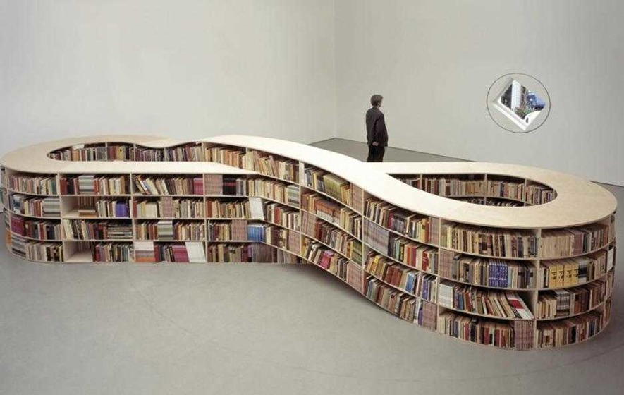 The Bluffer has plans for the wallflowers on his bookshelves