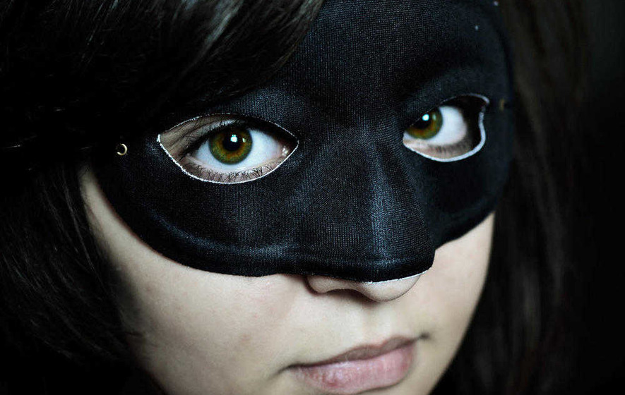 Being yourself in business is scary - so take the mask off