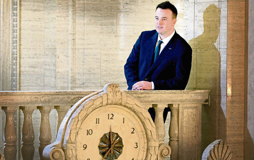 Platform: Colum Eastwood says the north must 'come of age'