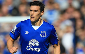 Everton midfielder Barry makes a strong case for the defence