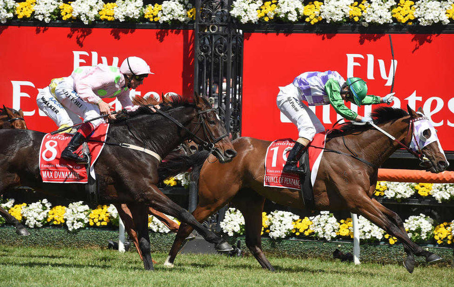 Michelle streaks to historic Melbourne Cup victory