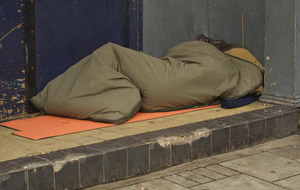 Extra rough sleeping beds 'a sign of failure'