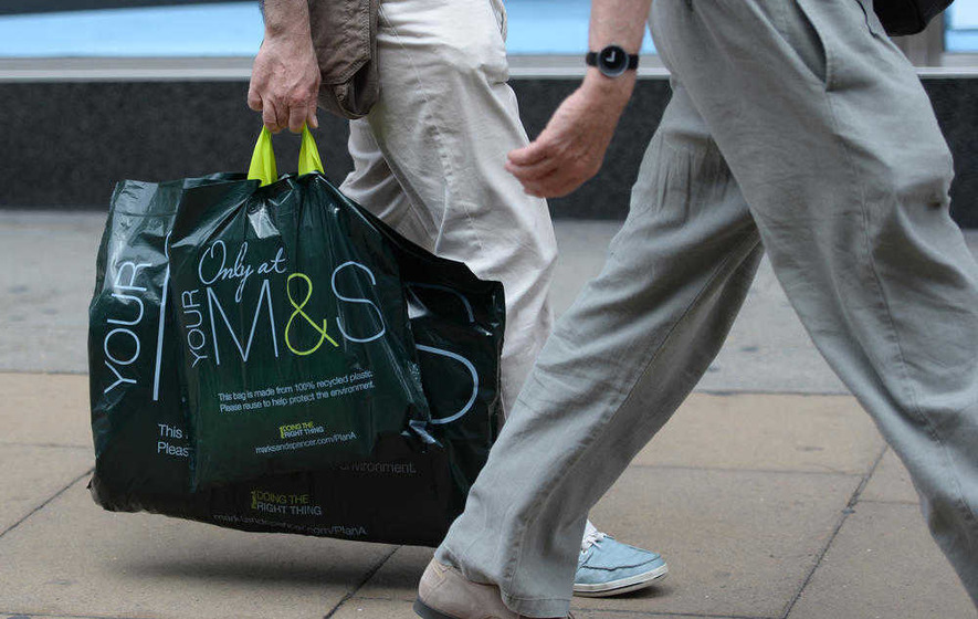 Marks & Spencer sales fall again