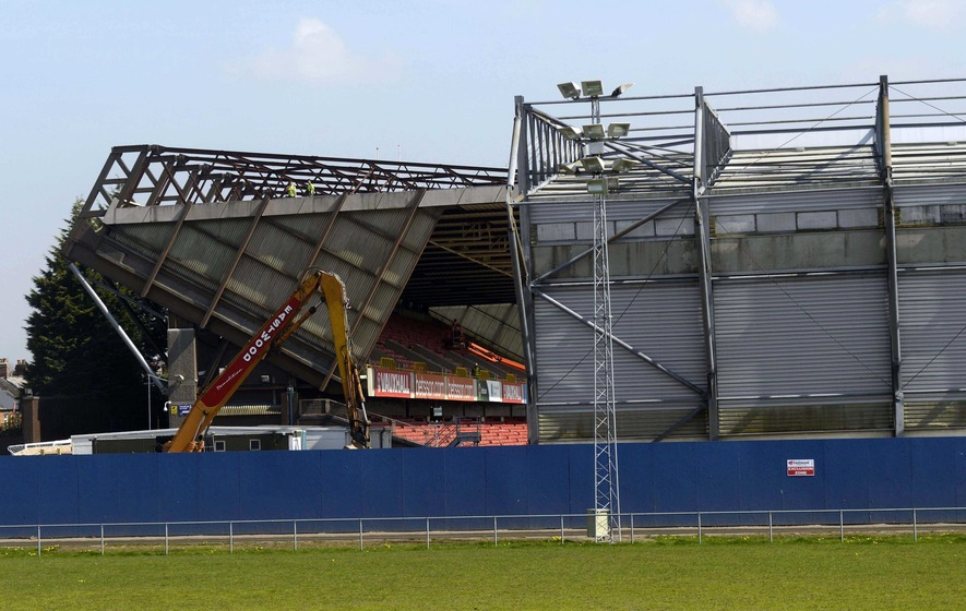 Windsor Park to get new stand after safety fears forced demolition
