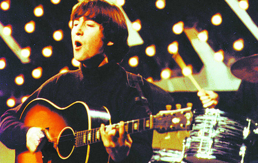 John Lennon's guitar sells for £1.59m at auction in California