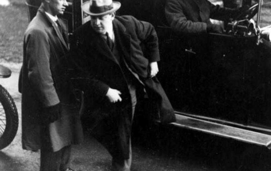Michael Collins thought pogrom accounts were exaggerated