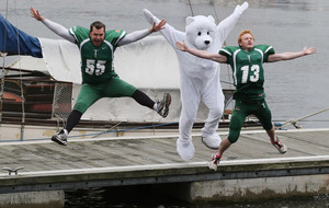 VIDEO: Belfast Trojans in Polar Plunge for Special Olympics