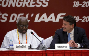 International Olympic Committee suspends Diack