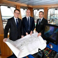 All ship-shape in Belfast as Stena boss arrives for port's milestone birthday