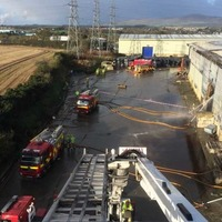 Demolition of Derry recycling plant begins