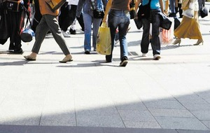 Footfall and vacancy rates improve