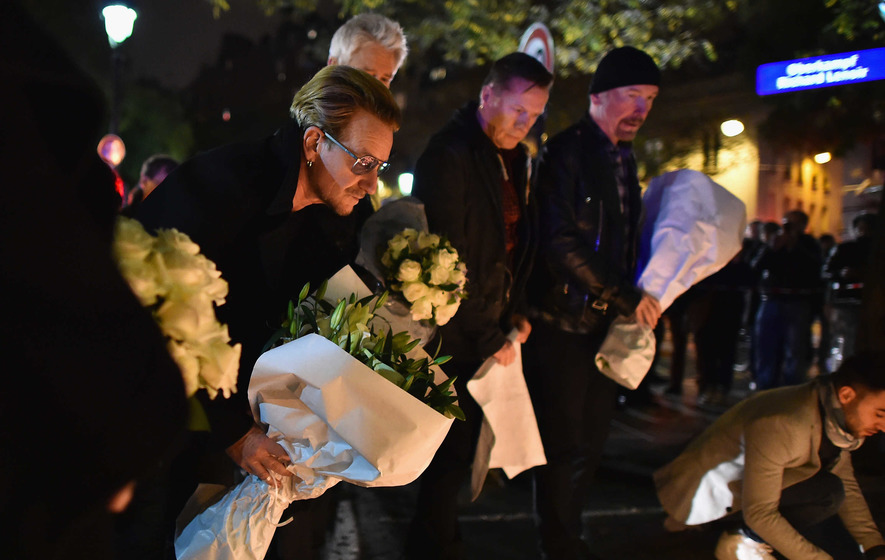 Sports and music events cancelled in wake of attacks