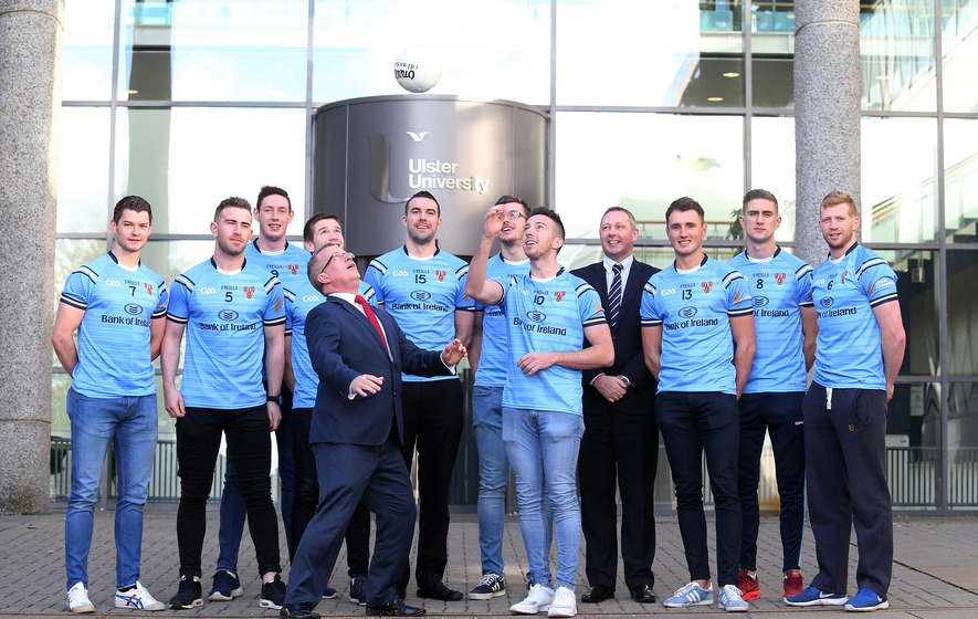 Sigerson Cup launched at Ulster University, Jordanstown