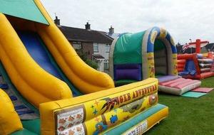 MLA under fire over bouncy castle bonfire funding