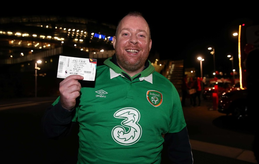 Ireland fans prepare for summer in France despite Paris attacks