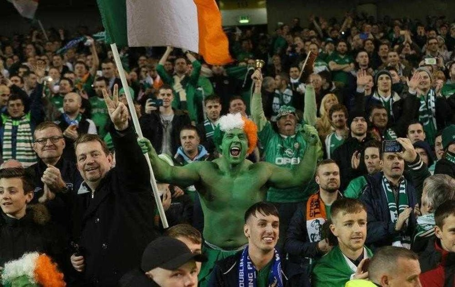 Republic of Ireland fans think of travel plans