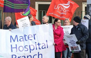 Unions protest as trust say A&E changes are 'temporary'