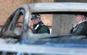 Hoax bombs at Derry and Lisburn police and army barracks