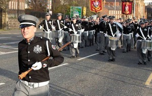 Calls for Jamie Bryson band to be barred from march