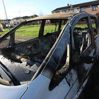 Cars burnt out in suspected hate crimes in Ballymena