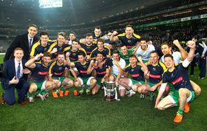 Joe Kernan hails Ireland's International Rules triumph