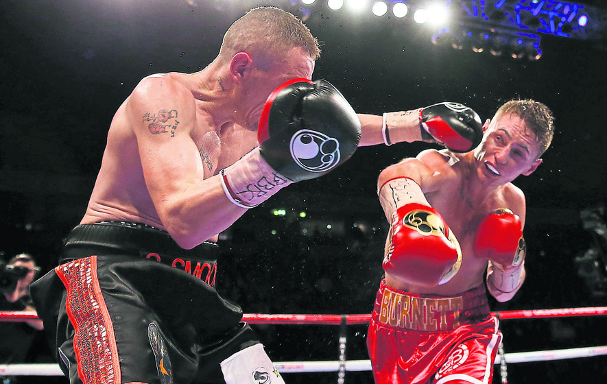 Ryan Burnett takes British title after Booth win