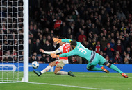 Sanchez brace helps keep Arsenal's European hopes alive