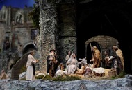 Newborn baby left in Christmas nativity manger at New York church