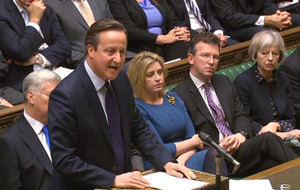 Cameron urges MPs to back Syria air strikes