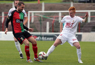 Patience is key for Glentoran says Ciarán Caldwell