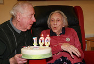 Former linen mill worker celebrates 106th birthday