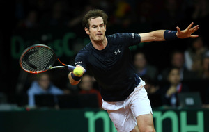 Andy Murray levels Davis Cup final for Britain against Belgium