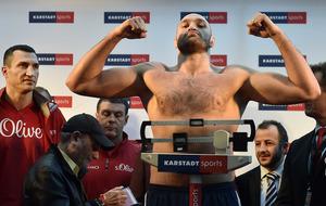 'If lose against Klitschko, I'm a fraud' says Tyson Fury