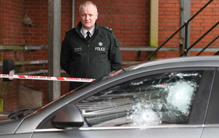 'IRA' claims it fired shots at PSNI officers in west  Belfast attack