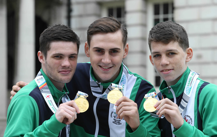James McGivern among Irish trio in European Youth finals