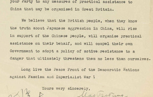 Chairman Mao letter to Attlee may fetch £100k