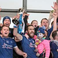 Dan Gordon proud to lead Loughinisland to Ulster title