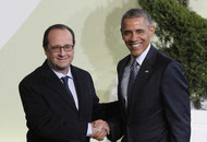 Obama lauds French defiance at climate conference