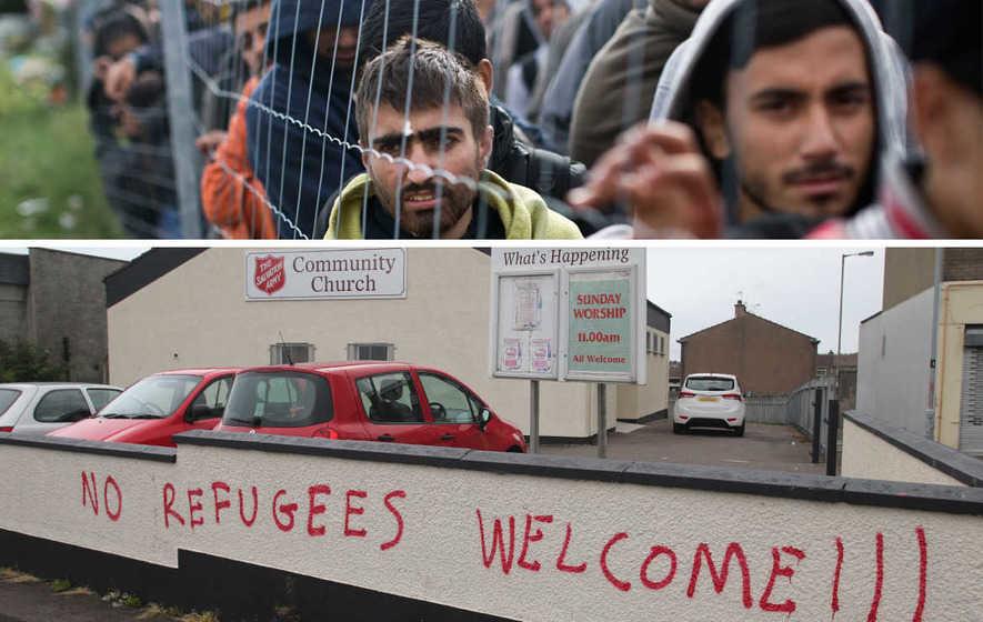 Methodist Church condemns loyalist anti-refugee rally