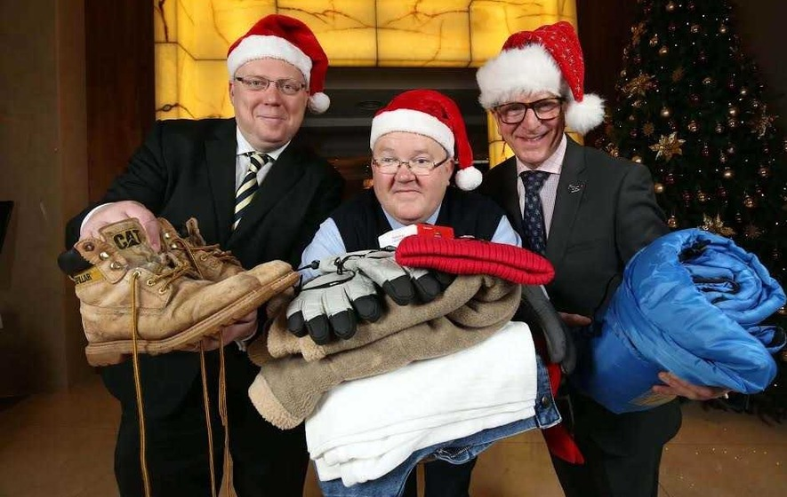 Bus driver inspires 'Clothes for Christmas' homeless appeal