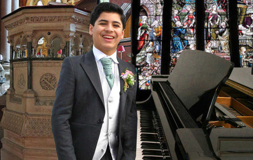 Talented young pianist Rowel's on the rise