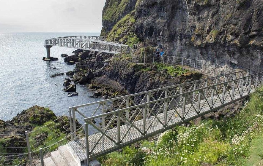 Gobbins path will help attract two million visitors next year