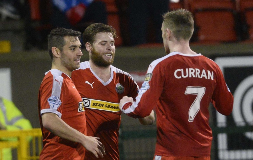 Irish League results: Cliftonville move second with Ballymena win