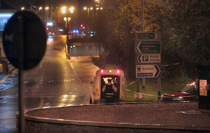 Derry train station bomb alert ends after nothing found
