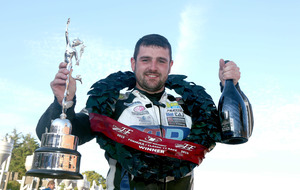 Michael Dunlop in the driving seat at Northern Ireland Motorcycle Festival