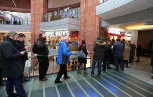 In Pictures: Five Guys burger restaurant opens in Belfast to massive queues
