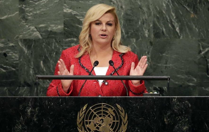 Embarrassing moment for Croatian human rights activist