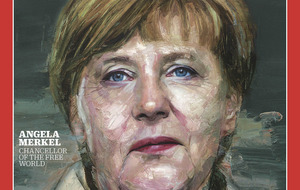Belfast artist's Angela Merkel portrait makes Time Magazine cover