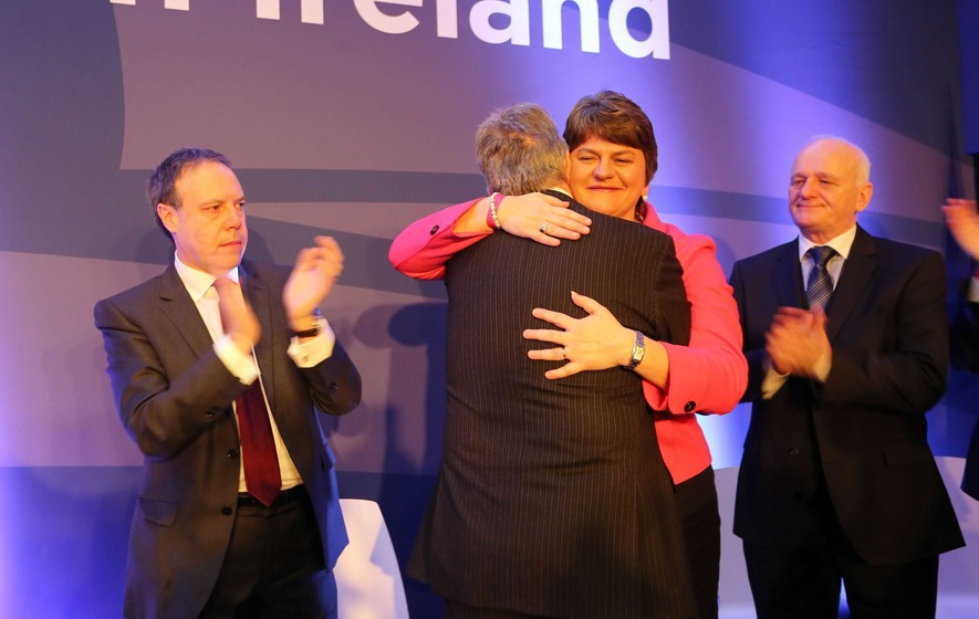 Arlene Foster poised to become new leader of the DUP